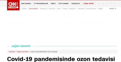 Covid-19 pandemisinde ozon tedavisi